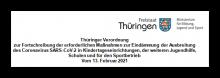 Neue Verordnung in Thüringen in Kraft!